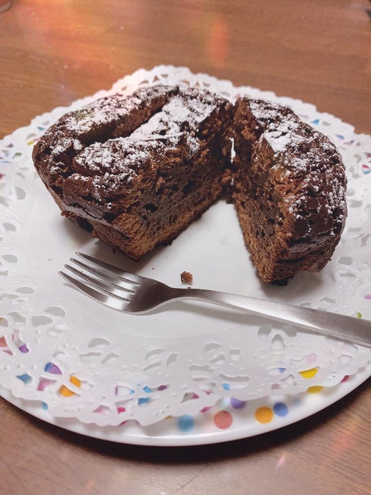 吉田希 チョコケーキ