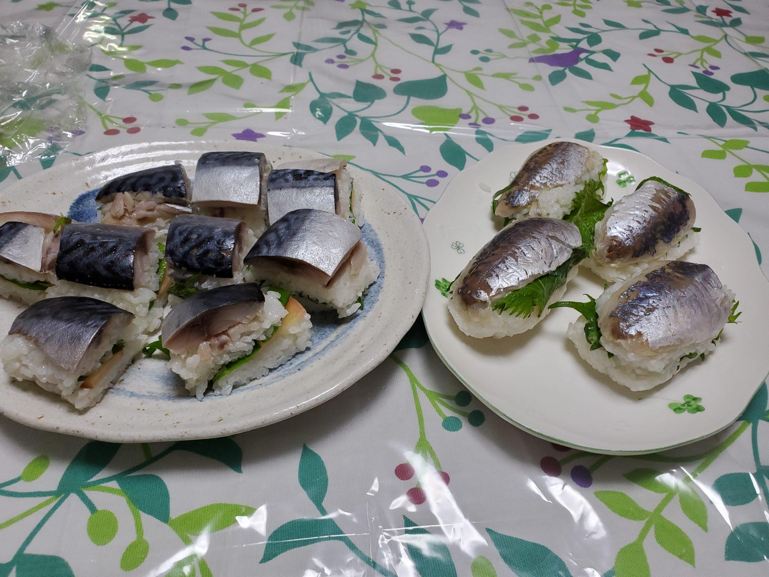 20210418_113159藤井資恵 鯖寿司